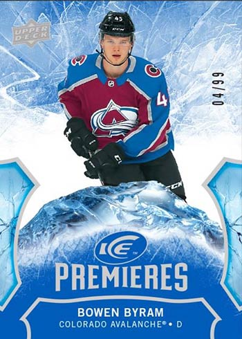 2020-21 Upper Deck Ice Hockey Ice Premieres