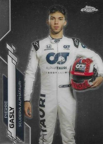 2020 Topps Chrome Formula 1 11 Pierre Gasly