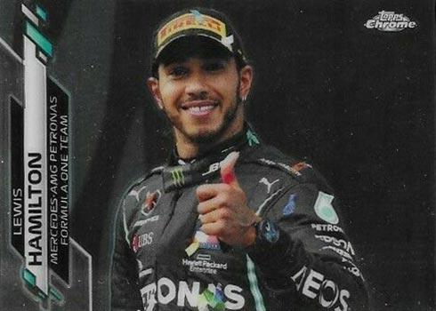 2020 Topps Chrome Formula 1 174 Lewis Hamilton