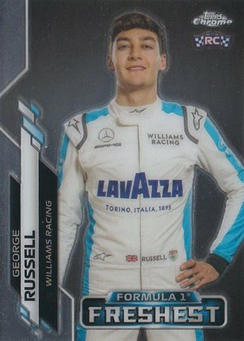 2020 Topps Chrome Formula 1 George Russell