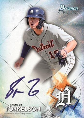 2021 Bowman Sterling Baseball Prospect Autographs Speckle Refractors Spencer Torkelson
