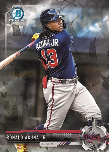 2021 Bowman Sterling Baseball Sterling RecollectionsRonald Acuna Jr