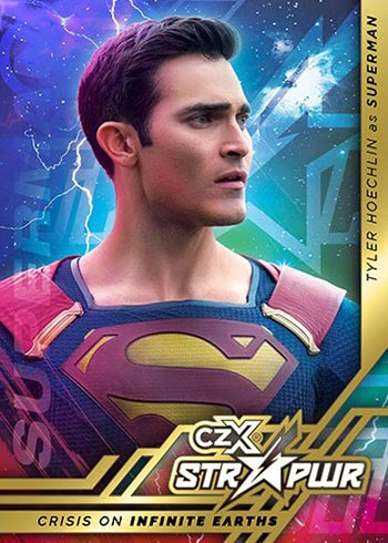 2021 Cryptozoic CZX Crisis on Infinite Earths STR PWR Superman