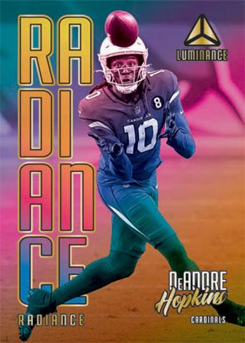 2021 Panini Luminance Football Radiance De'Andre Hopkins