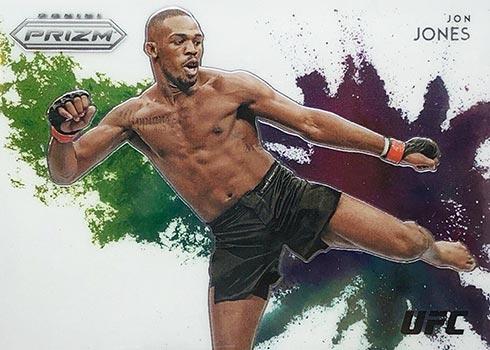 2021 Panini Prizm UFC Color Blast Jon Jones