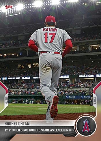 2021 Topps Now Baseball 137 Shohei Ohtani