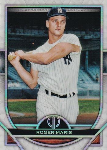 2021 Topps Tribute Baseball Roger Maris