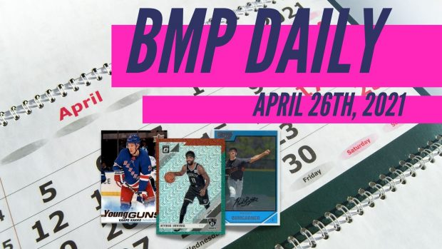 Beckett Marketplace Daily: 4/26/21