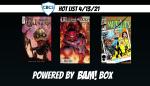 CBCS Hot List: 4/13/21