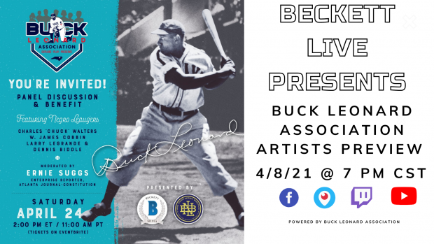 Beckett Live Presents: Buck Leonard Association Artists Preview