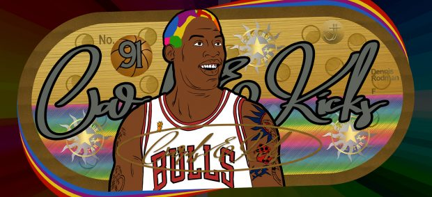 Cards & Kicks: Dennis Rodman
