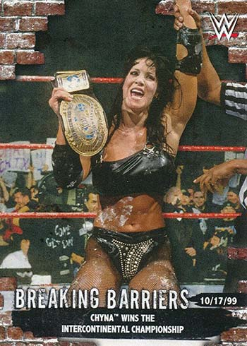 2020 Topps WWE Women's Division Breaking Barriers Chyna