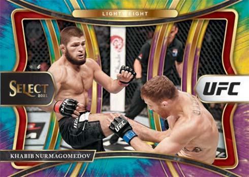 2021 Panini Select UFC Tie-Dye