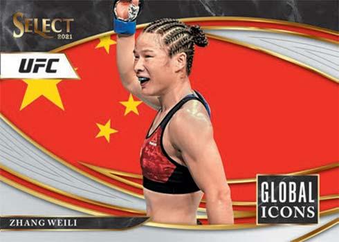 2021 Panini Select UFC Global Icons