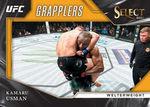 2021 Panini Select UFC Grapplers Gold