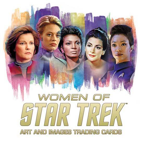 2021 Rittenhouse Women of Star Trek Art and Images
