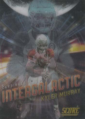 2021 Score Football Intergalactic Kyler Murray