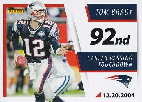 2021 Score Football Tom Brady TD Tribute