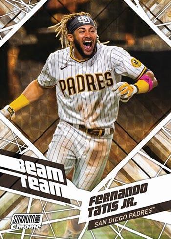 2021 Topps Stadium Club Chrome Baseball Beam Team