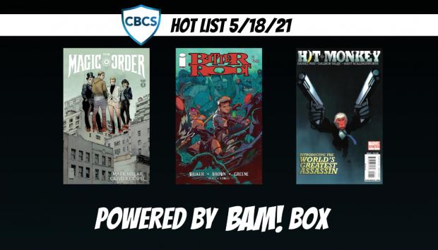 Magic Order #1 Tops the CBCS Hot List