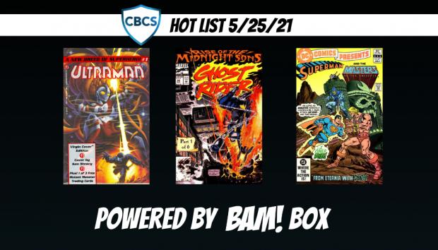 Ultraman Tops the CBCS Hot List