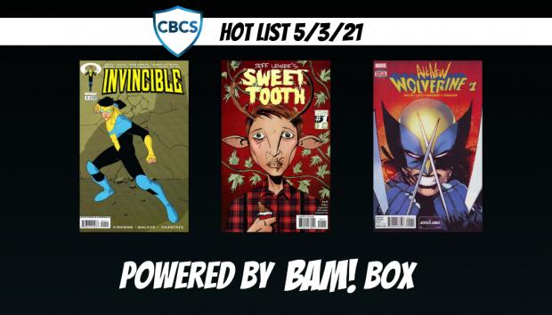 CBCS Hot List: 5/3/21