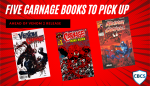 Five Carnage Books to Pick Up