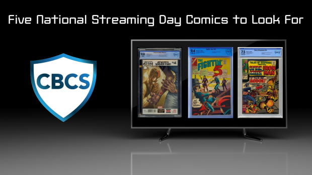 Five National Streaming Day Comics to Look For