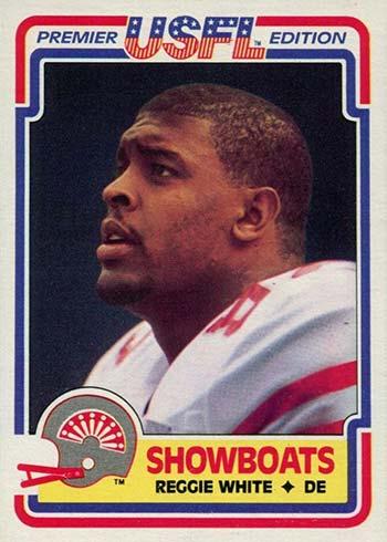 1984 Topps USFL Reggie White