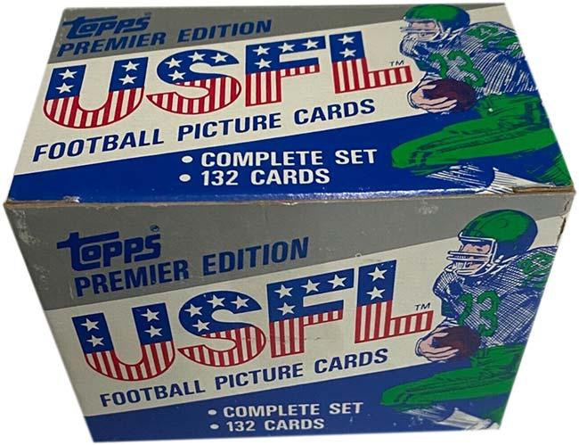 1984 Topps USFL Set