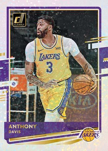 2020-21 Clearly Donruss Basketball Holo Gold Anthony Davis