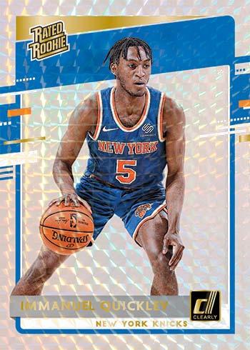 2020-21 Clearly Donruss Basketball Holo Mosaic