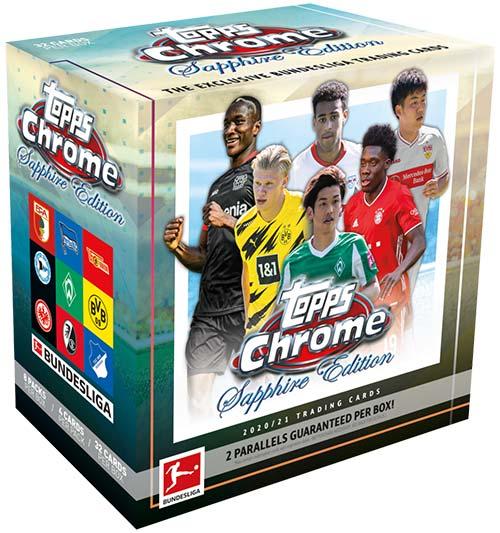 2020-21 Topps Chrome Sapphire Bundesliga Box