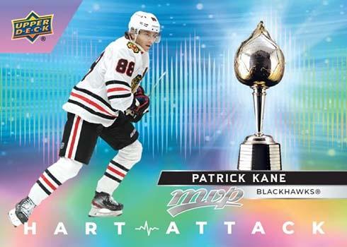 2021-22 Upper Deck MVP Hockey Hart Attack Patrick Kane