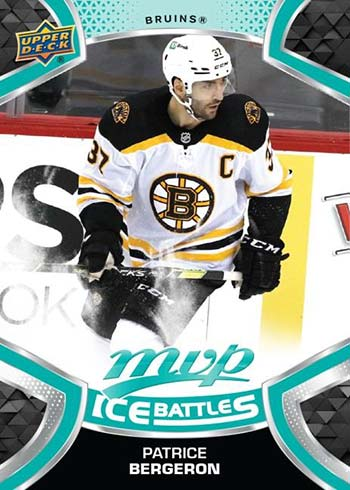 2021-22 Upper Deck MVP Hockey Ice Battles Patrice Bergeron