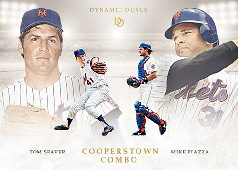 2021 Topps Dynamic Duals Baseball Cooperstown Combos