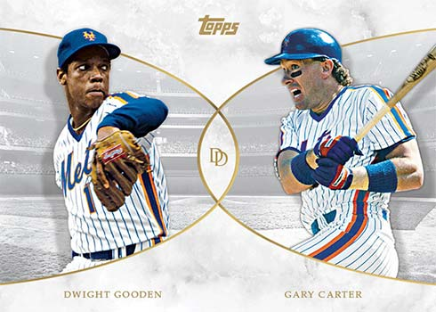 2021 Topps Dynamic Duals Baseball Dwight Gooden / Gary Carter