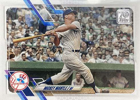 2021 Topps Series 2 Baseball Variations Mickey Mantle