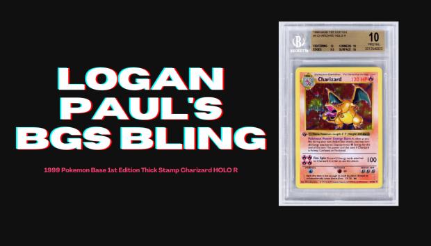 Logan Paul's BGS Bling
