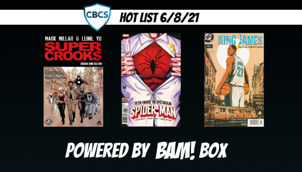 Peter Parker Swings to the Top of CBCS Hot List
