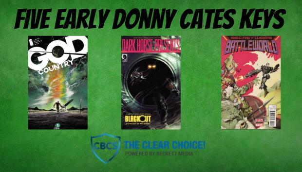 Five Early Donny Cates Keys