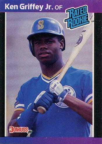 1989 Donruss Ken Griffey Jr. Rookie Card