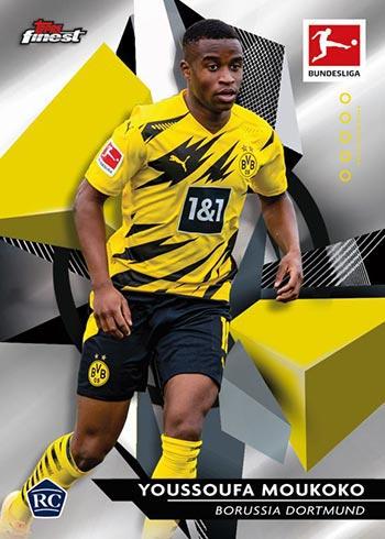 2020-21 Topps Finest Bundesliga Youssoufa Moukoko