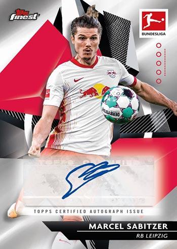 2020-21 Topps Finest Bundesliga Autograph
