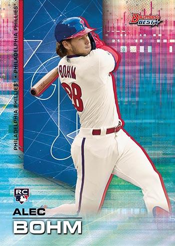 2021 Bowman's Best Baseball Best of 2021 Autographs Alec Bohm