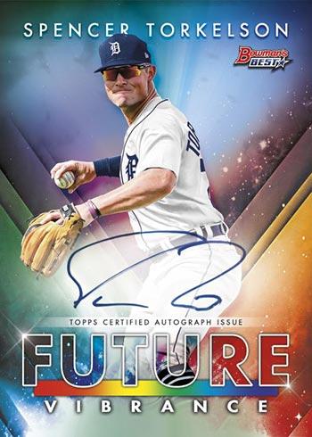 2021 Bowman's Best Baseball Future Vibrance Autographs Spencer Torkelson