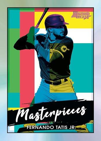 2021 Bowman's Best Baseball Bowman Masterpieces Fernando Tatis Jr.