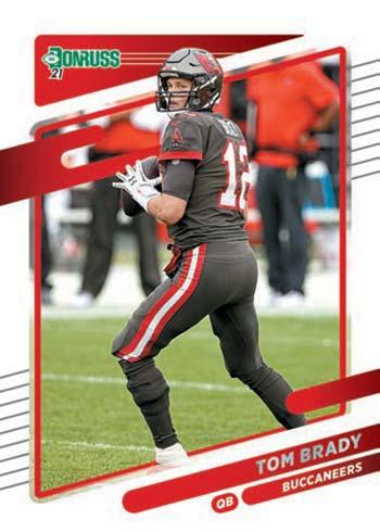 2021 Donruss Football Tom Brady