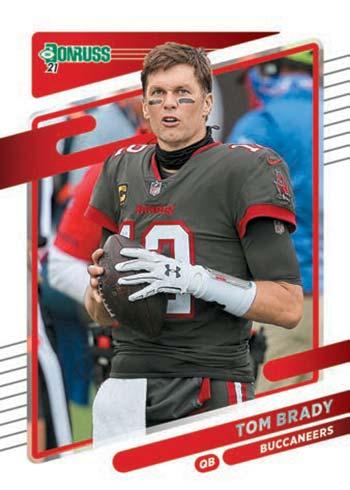 2021 Donruss Football Tom Brady Variation