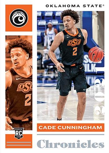 2021 Panini Chronicles Draft Picks Basketball Cade Cunningham